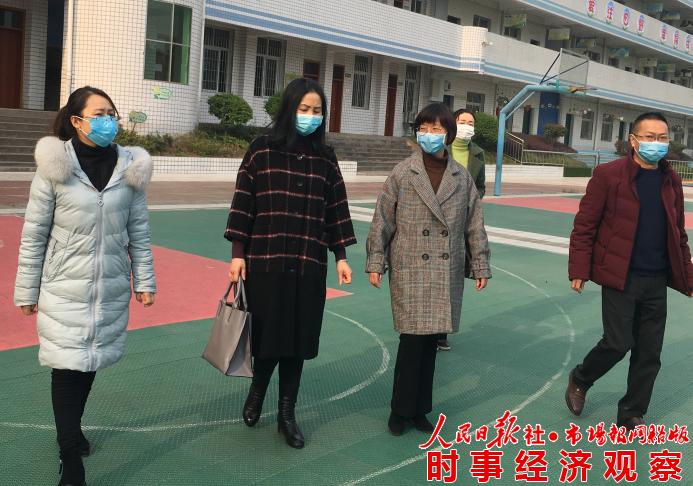 威远县教育和体育局到高石镇中心校调研疫情防控及开学准备情况