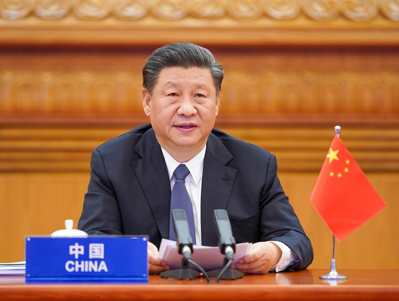 习近平出席二十国集团领导人应对新冠肺炎特别峰会倡议有效开展国际联防
